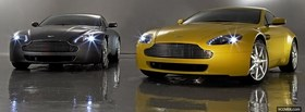 cars of aston martin facebook cover