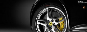 black ferrari wheel facebook cover