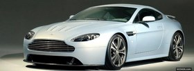 free front view aston martin car facebook cover