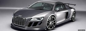 silver abt r8 gtr facebook cover