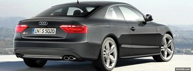 free back view audi a5 car facebook cover