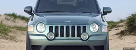 jeep compass front view facebook cover
