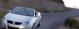 alfa romeo white car facebook cover