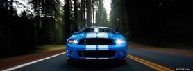 free front of mustang shelby facebook cover