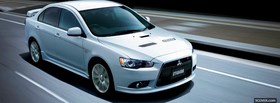 mitsubishi galant 2010 car facebook cover