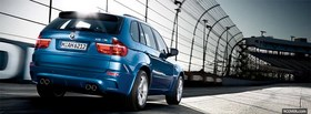 blue bmw x5 m facebook cover