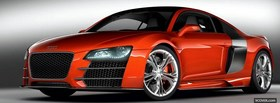 audi r8 mans concept car facebook cover