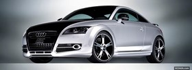 audi tt a5 car facebook cover