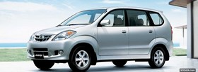 toyota avanza car facebook cover