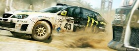 colin mcrae dirt 2 facebook cover