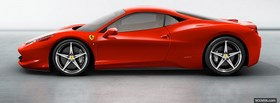 ferrari 458 italia red facebook cover