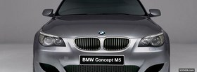 bmw concept m5 car facebook cover