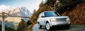land rover and mountains facebook cover