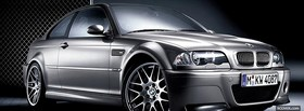 bmw m3 csl car facebook cover