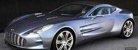 aston martin one 77 car facebook cover