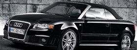 audi rs4 cabriolet facebook cover
