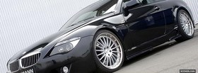hamann black bmw car facebook cover
