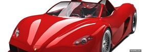 red ferrari aurea facebook cover