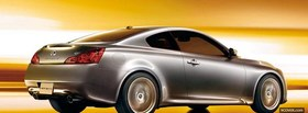 infiniti g37 car facebook cover