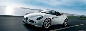 free alfa 8c spider outside facebook cover