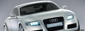 blue audi rs4 2012 facebook cover