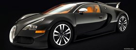 car bugatti veyron sang noir facebook cover