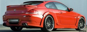 free red bmw m6 hamann facebook cover