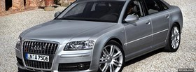 s8 audi car facebook cover