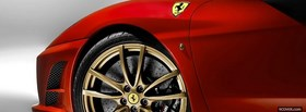 ferrari f430 wheel facebook cover