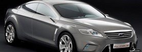 ford mondeo silver facebook cover