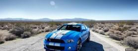 ford mustang in the desert facebook cover