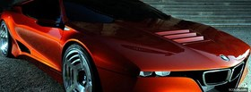 bmw m1 hommage car facebook cover