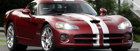 dodge viper srt 10 car facebook cover