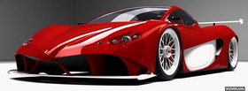 front view of ferrari aurea facebook cover