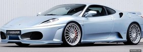 ferrari f430 hamann car facebook cover