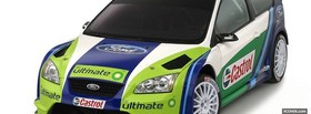 ford focus rs rally car facebook cover
