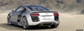 back r8 v12 audi facebook cover
