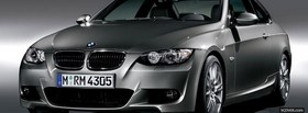 bmw 3 series coupe car facebook cover