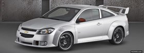 free chevrolet cobalt ss silver facebook cover