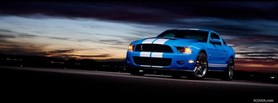 shelby mustang night facebook cover