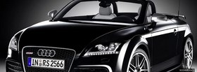 audi tt rs car facebook cover
