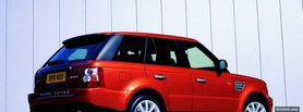 range rover sport car facebook cover