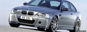 free 2001 silver bmw m3 facebook cover