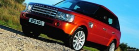 red range rover outdoors facebook cover