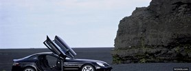 slr mclaren black outside facebook cover