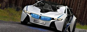 cool bmw vision car facebook cover