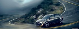 volkswagen golf gti car facebook cover