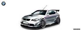 bmw m3 gtr car facebook cover