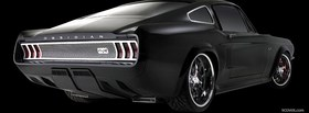 black mustang obsidian car facebook cover
