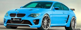 bmw m6 g power car facebook cover